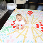 Arts & Crafts Rug Slip Cover Play Mat 4' x 6' - CBS THE TALK