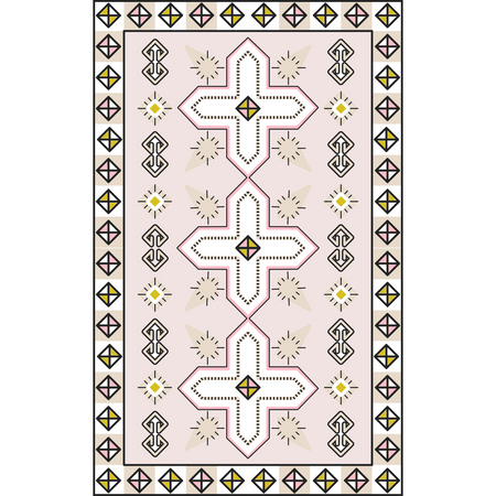 Boho Bliss Rug Slip Cover Play Mat  4' x 6'