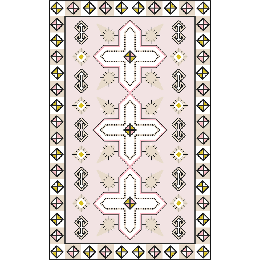 Boho Bliss Rug Slip Cover Play Mat