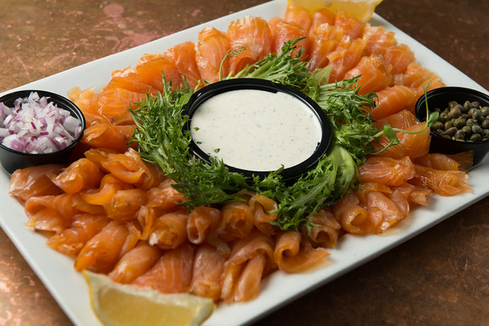 Cold Smoked Salmon Platter