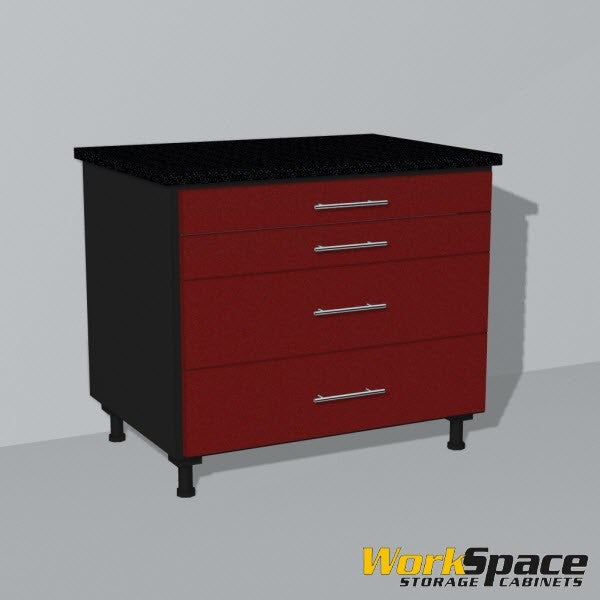 4 Drawer Base Garage Cabinet 32-1/4