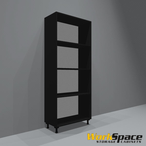 Open Tall Garage Cabinet (3 Adj. Shelves) 32-1/4