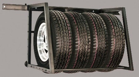 Tire Storage Adjustable Rack