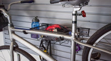 Horizontal Bike Rack w/ Lock SlatWall Accessory