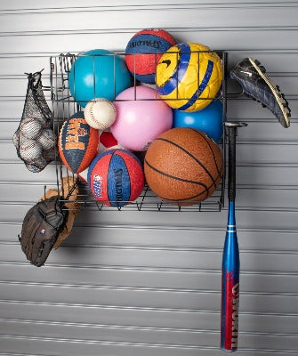 Sports Equipment Rack SlatWall Accessory