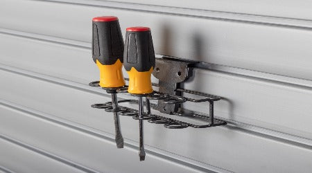 Screwdriver Rack SlatWall Accessory