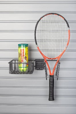 Tennis Equipment Holder SlatWall Accessory