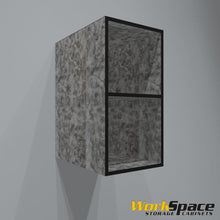 "17""W x 31""H x 24""D Open Upper Garage Cabinet"