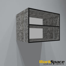 "32""W x 24""H x 24""D Open Upper Garage Cabinet"