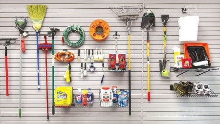 33 Piece Intermediate SlatWall Accessory Kit