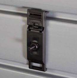 Locking accessory clip - Black