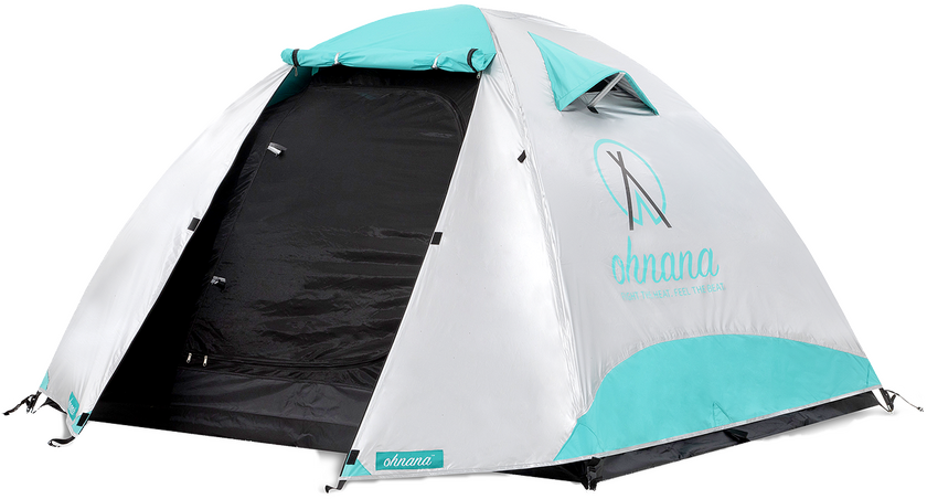 Ohnana Rayve tent with open door