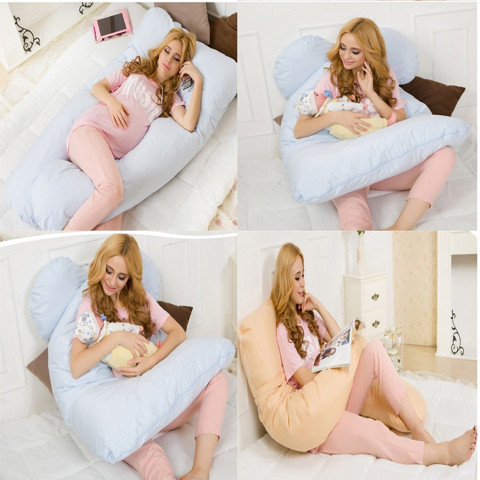 Full Body Comfortable Pregnancy Pillow