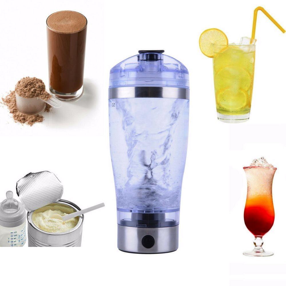 SUPER 450ml Electric Protein Shaker Blender