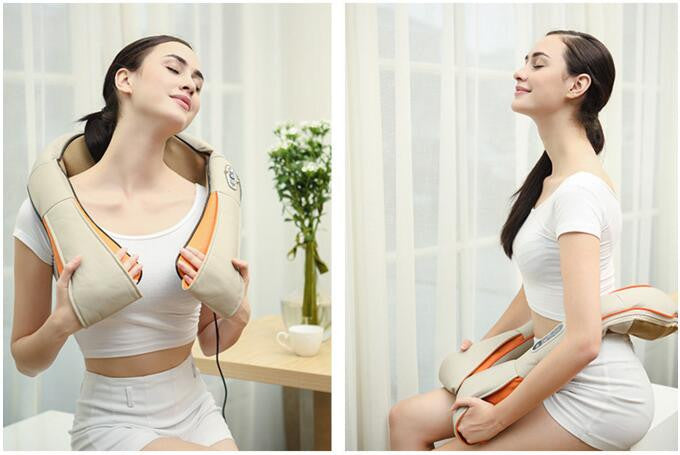 Deep Kneading U-Shape Electrical Body Massager