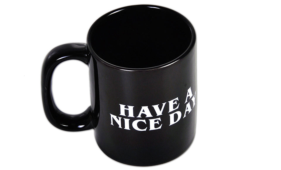 Have a Nice Day Middle Finger Coffee Mug