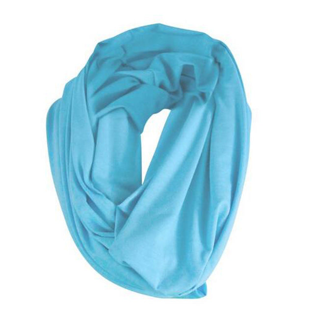 Outdoor Cotton Privacy Breastfeeding Scarf