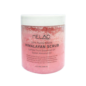Himalayan Lychee/almond Scented Scrub