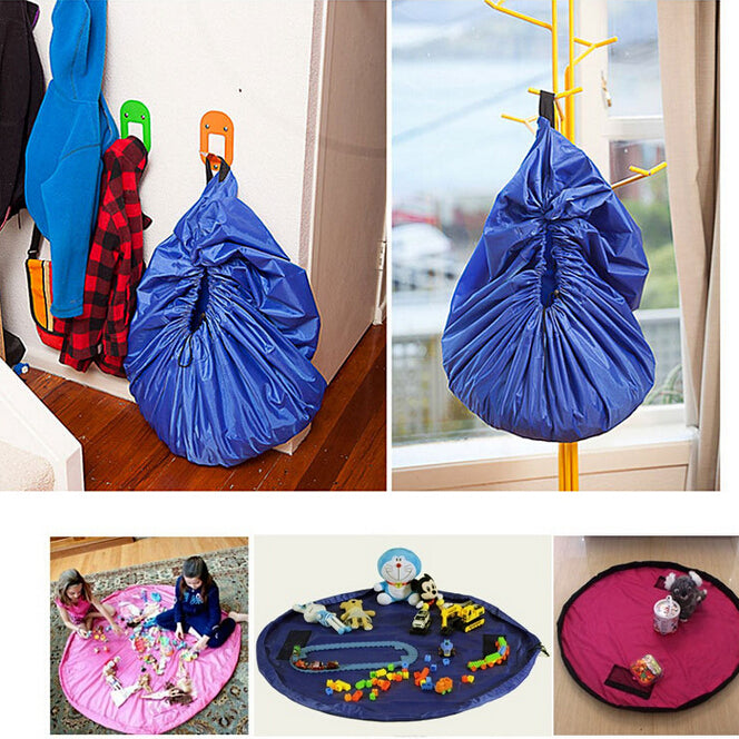 Large Portable Kids Toy Storage Bag