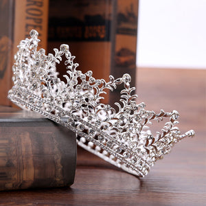 Baroque Gold Silver Wedding Hair Accessories