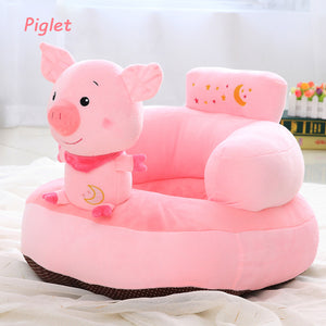 Cute Plush Baby Animal Seat With Back Support