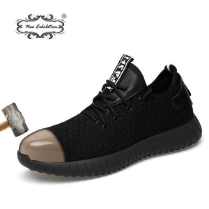 Anti Smash Breathable Steel cap Shoes
