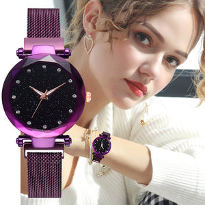 Luxury Magnetic Clasp Watch