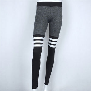 Best Selling Striped Stretching Leggings