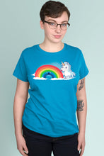 Tasty Rainbow Turquoise t-shirt Simply Fearless