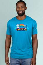Yasss! turquoise t-shirt Simply Fearless