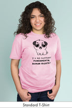 Y U No Support Fundamental Human Rights? Light Pink Standard t-shirt Model Simply Fearless