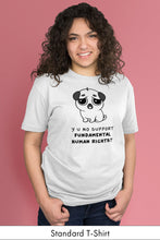 Y U No Support Fundamental Human Rights? White Standard t-shirt Model Simply Fearless