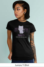 Anxiety: Other People juniors Black t-shirt Simply Fearless