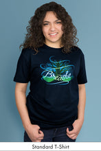 Breathe Standard t-shirt model Simply Fearless