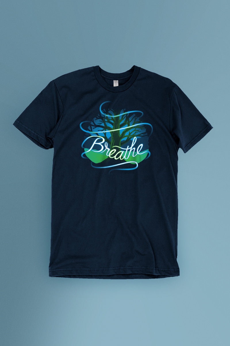 Breathe t-shirt Simply Fearless
