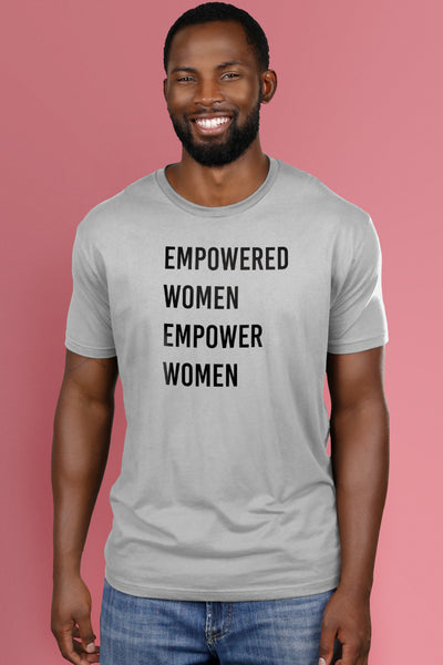 Empowered Women Empower Women Light Gray t-shirt Simply Fearless