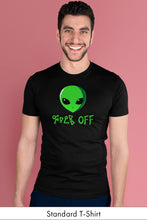 F Off Black standard t-shirt Model Simply Fearless