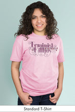 Feminist Killjoy Light Pink Standard t-shirt Model Simply Fearless