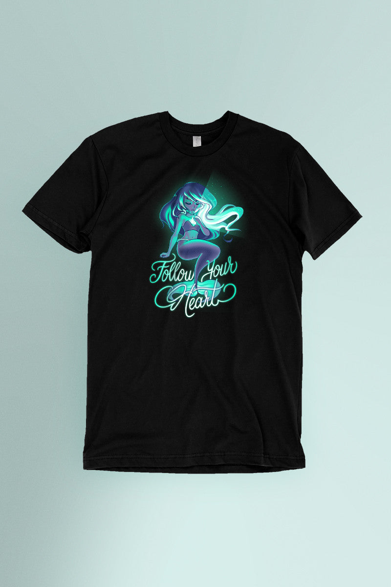Follow Your Heart t-shirt Simply Fearless
