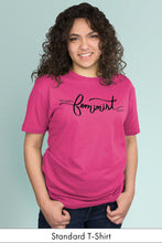 This is What a Feminist Looks Like Hot Pink Standard t-shirt Model Simply Fearless