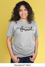 This is What a Feminist Looks Like Light Gray Standard t-shirt Model Simply Fearless
