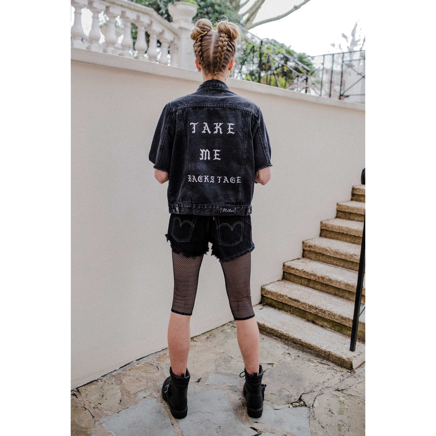 Take Me Backstage Denim Jacket