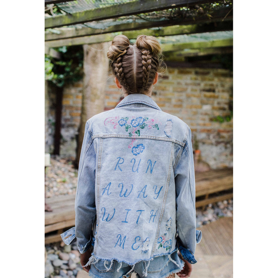 Run Away With Me Denim Jacket