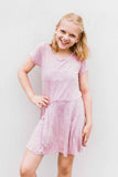 girls dress, tween dress, teen dress, young women's dress, mineral wash dress, mineral wash, pleated dress, Dallas boutique, girls boutique, teen boutique, tween boutique