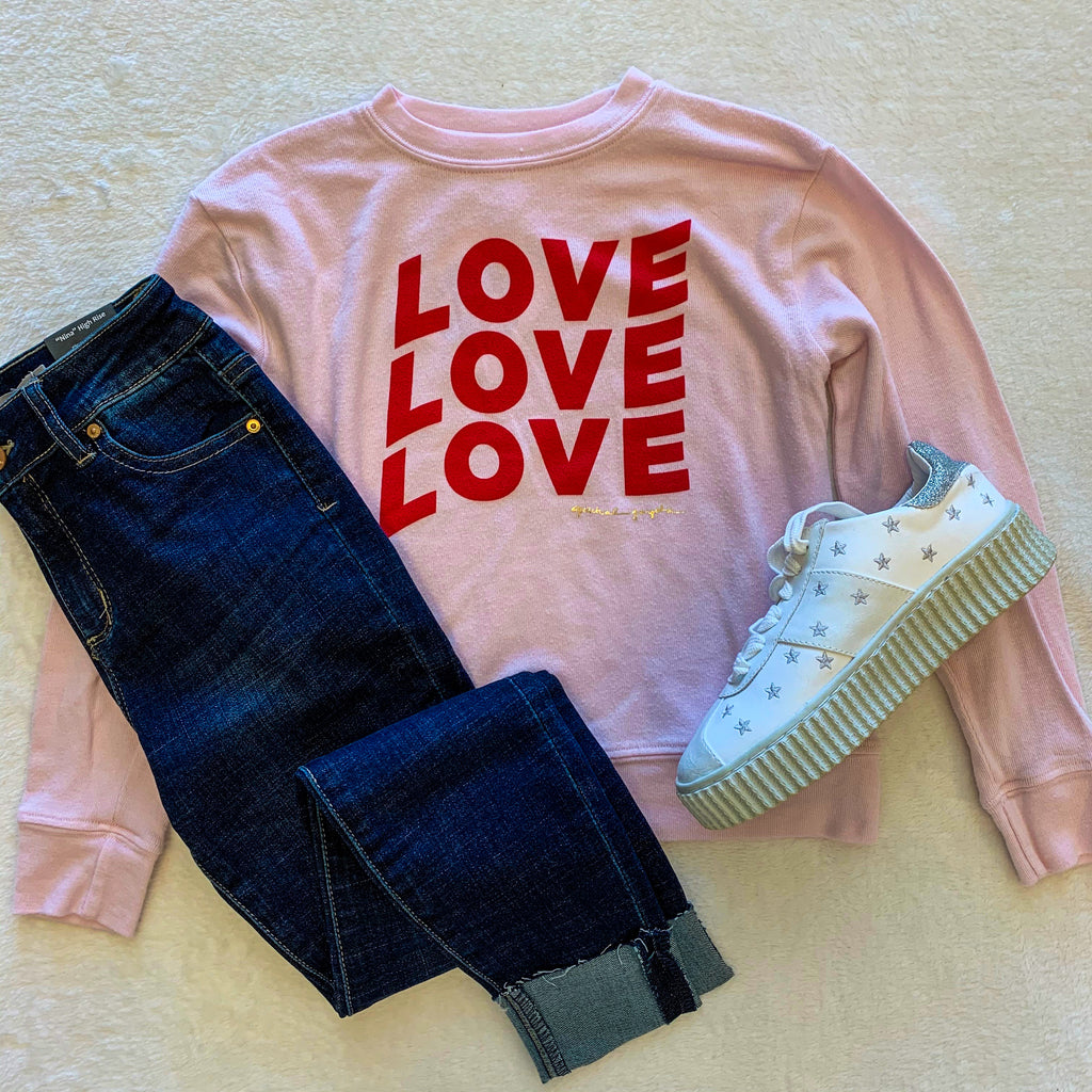 Love Girls Crew Neck