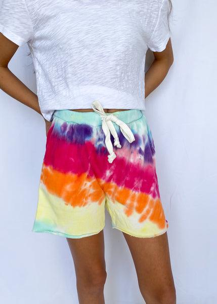 Reggie Super Soft Tie Dye Shorts