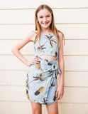 girls dress, tween dress, pineapple dress, tropical dress, dallas boutique, tween boutique, girls boutique