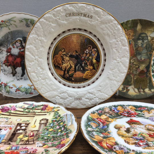 Christmas Plates, Tableware & Collectibles