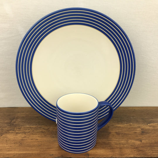"Denby ""Intro - Stripes - Blue"""