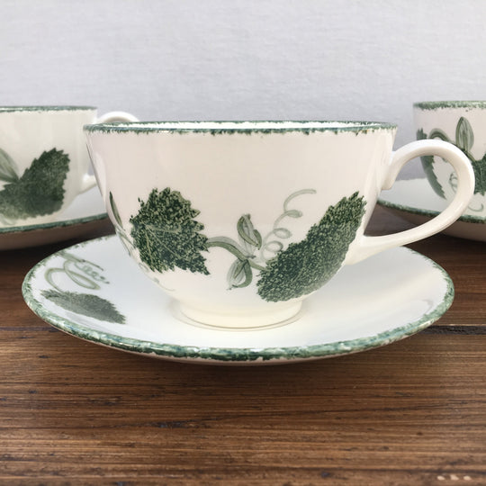 "Poole Pottery ""Green Leaf"""